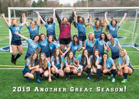 Lady Mustang Soccer