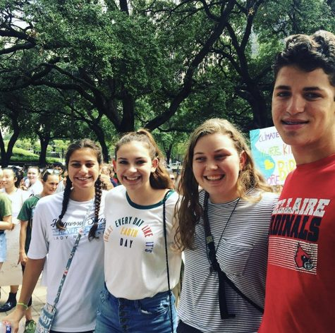 The Houston Climate Strike. International Climate action and the KHS Connection…