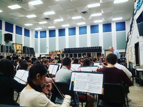 KHS Full Symphony Orchestra is ready to take on 2020 UIL next month…