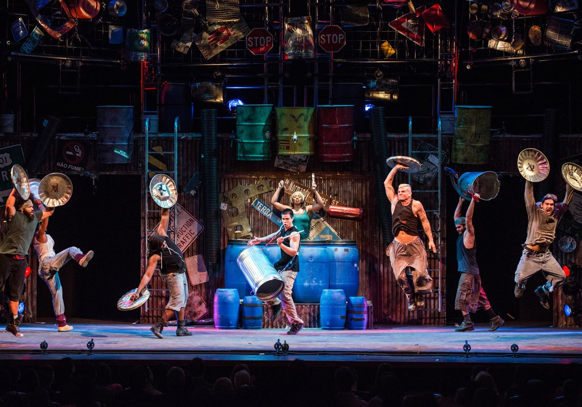Stomp Publicity Tour Photos.