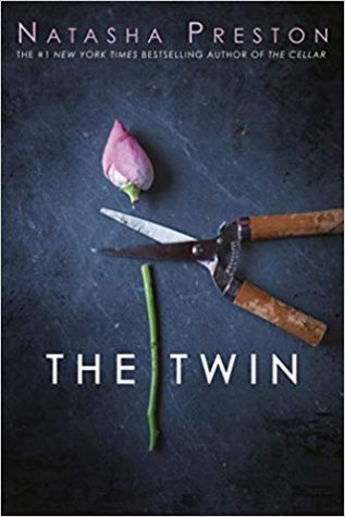 The Twin by Natasha Preston Book Cover.