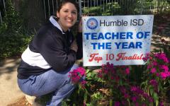KHS's Anisha Razo Makes the Top Ten for Humble ISD's Teacher of the Year