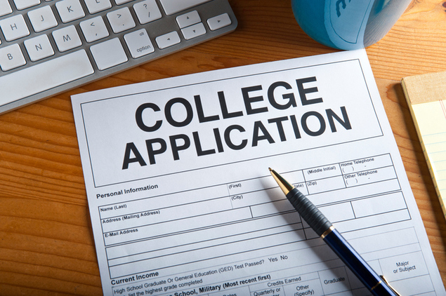 College applications might be changing this year. Artwork created by the photographer.