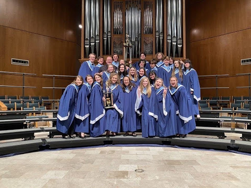 The 2019-2020 Kingwood Madrigals