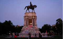 The statue of Robert E. Lee in Richmond has been the site of vandalism and protests in the wake of George Floyd's death. Photo Credit: Prince William Times