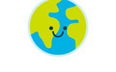 A cheerful & smiley earth representing the company's daily mission towards greater sustainability.