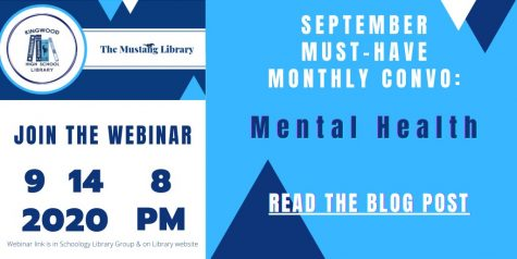 Flyer for the upcoming mental health webinar