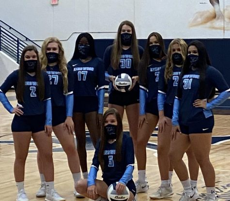 Senior Mustangs are ready to take the court this week!