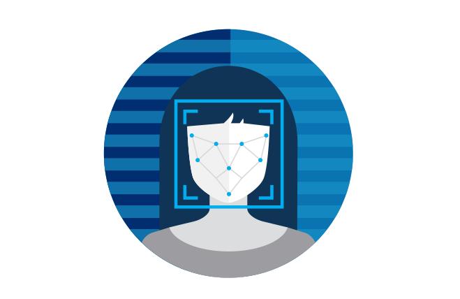 Graphic+depicting+a+facial+scan+through+a+facial+recognition+system.