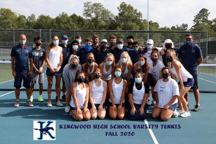 2020 Varsity Team Tennis Comes to a Close...