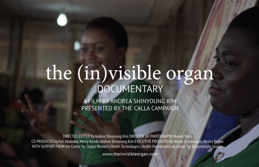 The (In)visible Organ film premieres in January 2021 and will dive into innovations and reforms in reproductive healthcare.